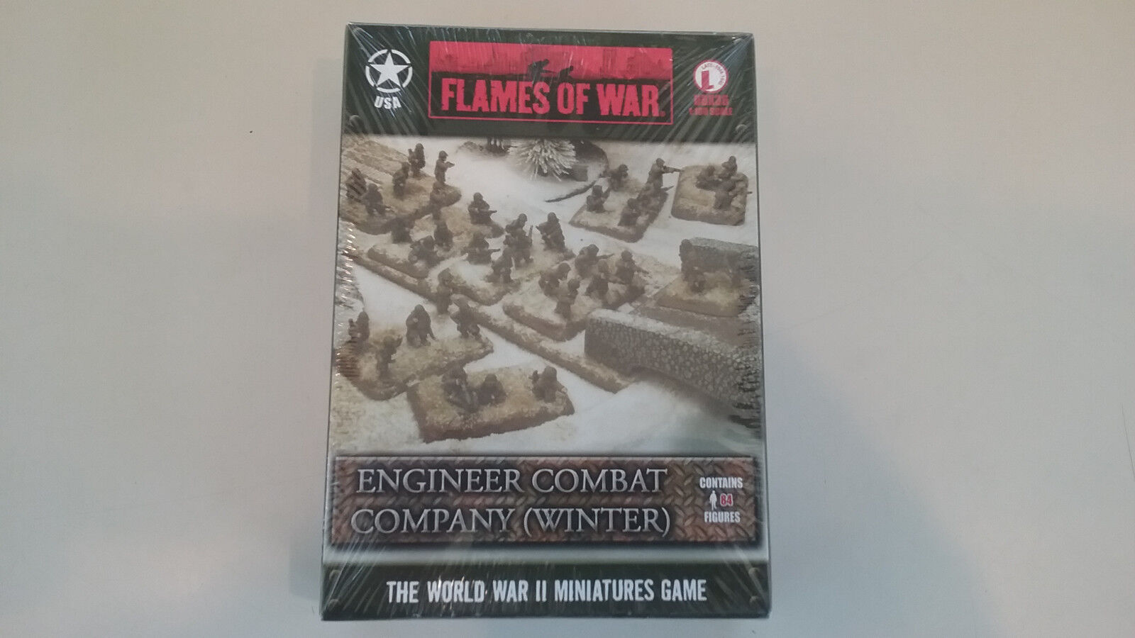 1 100 ( 15mm ) Scale WWII American Engineer Combat Company ( Winter )