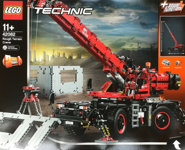 Lego Cars, Rough Terrain Crane, Rough Terrain Crane l.48cm…