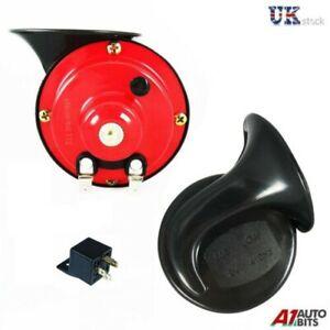 Universal Clásico Alto y bajo Tonos Doble Disco Doble Claxon Amplificador Sirena