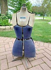 Antique Vintage Mannequin Dress Form Adjustable By Hearthside