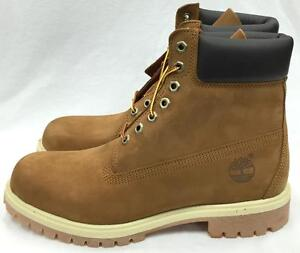 81282c3e108a NEW TIMBERLAND MEN S 6-INCH PREMIUM WATERPROOF BOOTS 72066 RUST ...