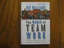 "PAT  WILLIAMS  Signed  Book(""THE MAGIC OF TEAM WORK""-1997  1st Edition Hardback)"