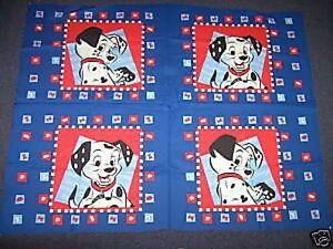 Bolt of 101 Dalmatians Cushion Panels Cotton Quilting Fabric (60 ... : cushion panels to quilt - Adamdwight.com