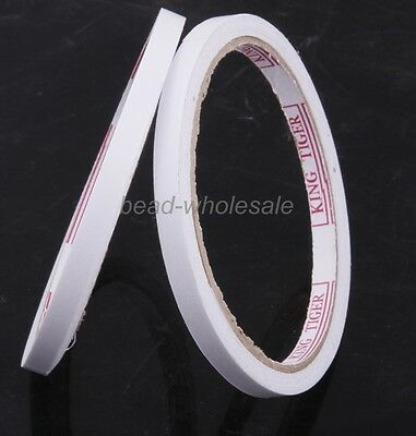 2 rolls of White Double Sided Faced Strong Adhesive Tape for Office Supplies
