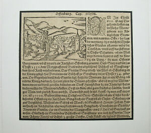OFFENBURG-Originaler-Holzschnitt-von-SEBASTIAN-MUNSTER-von-ca-1590