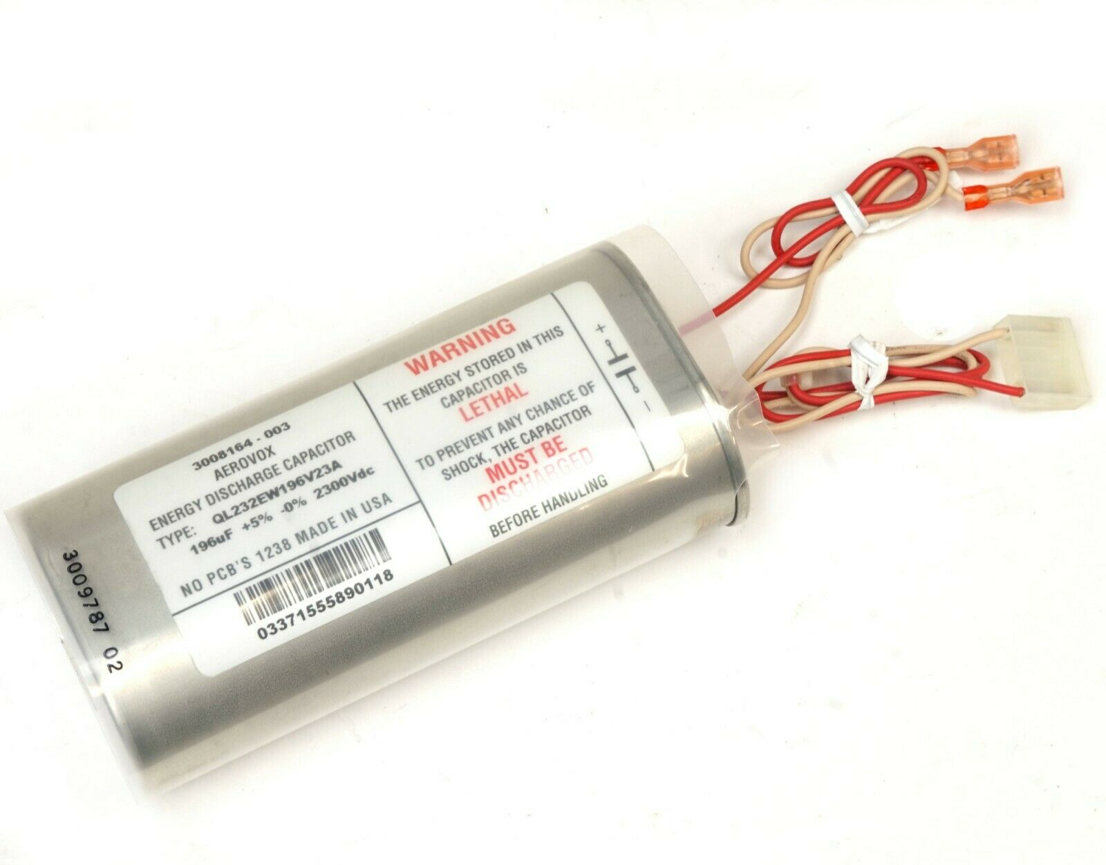 Aerovox Discharge Capacitor