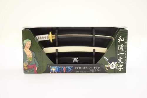 Abrecartas una pieza wadoichimonji ・ Roronoa Zoro Nikken Japón Envío gratuito