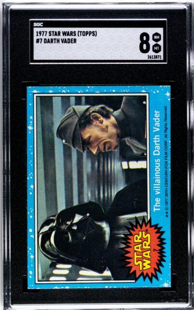 1977 Topps Star Wars #7 Villainous Darth Vader RC SGC 8 NM-MT Low Pop! 2613871