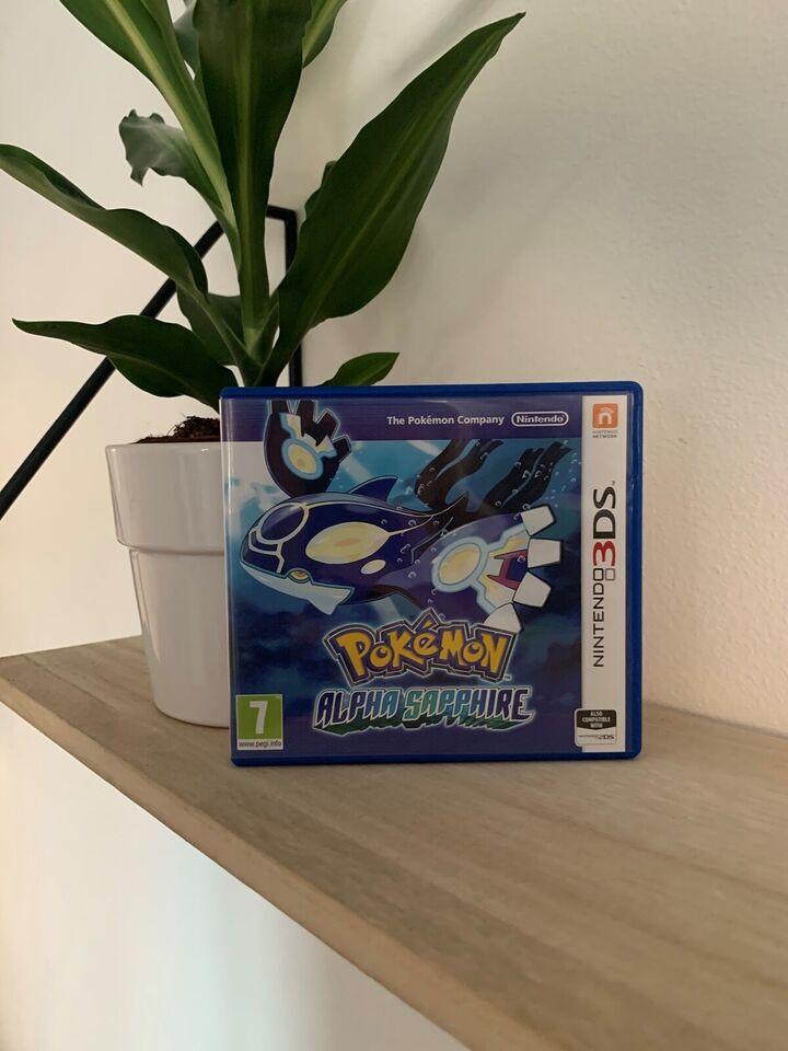Helt nyt! Pokemon Alpha Sapphire, Nintendo 3DS