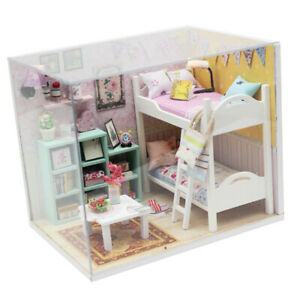 1-24-Dollhouse-Miniature-DIY-Mini-House-Kit-with-Led-Lights-Best-Friends