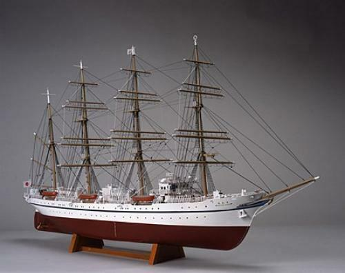 Woody Joe 1 160 Nippon Maru ( Hona ) Legno Mini Kit Modello Giappone