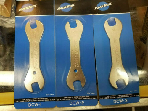 Tools Hub Cone Wrenches  DCW1 13-14 and DCW2 15-16 and DCW3 17-18 Park Double