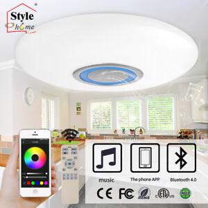 Stylehome-RGB-Lampara-de-Techo-Led-Regulable-Altavoz-Bluetooh-Control-Remoto-App