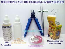 Soldering Desoldeing  Repairing Reballing students assitance KIT  DIY