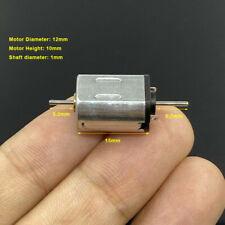 Mini N20 Dc 6v 12v High Speed Micro 10mm12mm Electric Motor Dual Shaft Slot Car