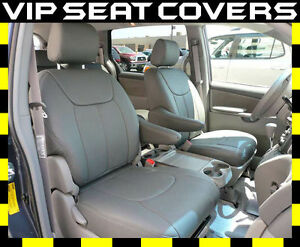 Toyota Sienna Seat Covers >> Details About Toyota Sienna Clazzio Leather Seat Covers