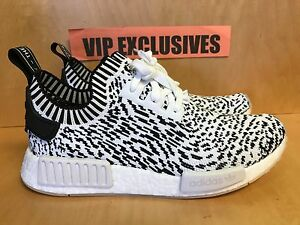 online store bde4f 8b074 Details about Adidas NMD R1 PK Zebra Pack White Black Nomad Primeknit  BZ0219 SZ 8-13 LIMITED