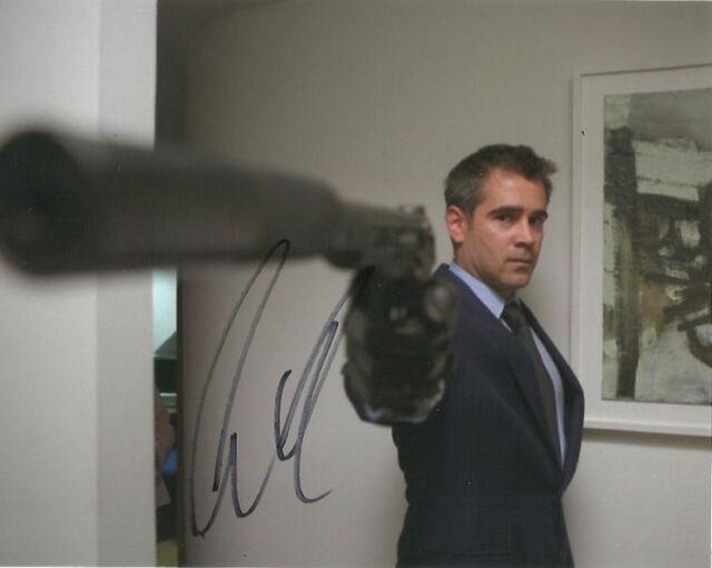 Colin Farrell Autographed Signed 8x10 Photo COA