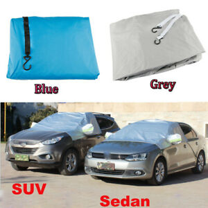 Car Windscreen Mirror Shield Cover Frost Ice Snow UV Sun Dust Screen Protector