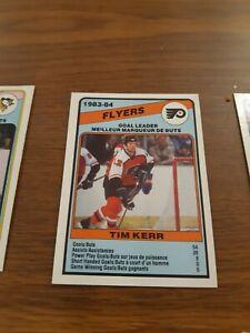Tim-Kerr-Goal-Leader-1984-85-O-PEE-CHEE-Hockey-364