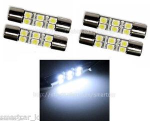 20pcs White Led Sun Visor Vanity Mirror Light Bulb Replace Fuse Type