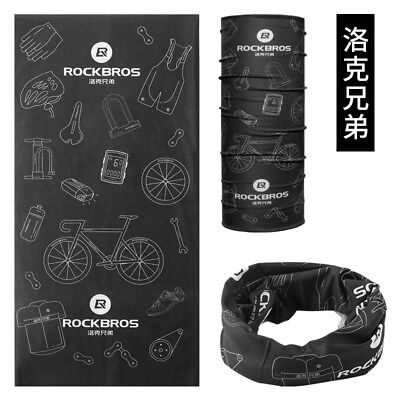 RockBros Cycling Multi-function Scarf Headwear NeckWarmer Headband TJ-3611