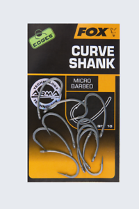 Fox Edges Arma Point Curve Shank Micro Barbed Carp Hooks