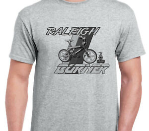 RALEIGH-BURNER-CHOPPER-CHIPPER-bike-shirt-tshirt