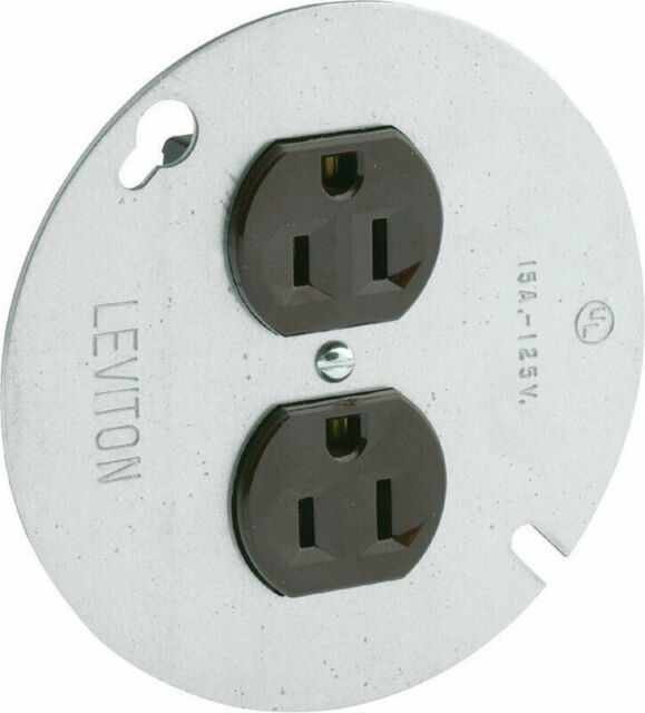 Leviton 15 Amps 125 Volt Brown Outlet 5