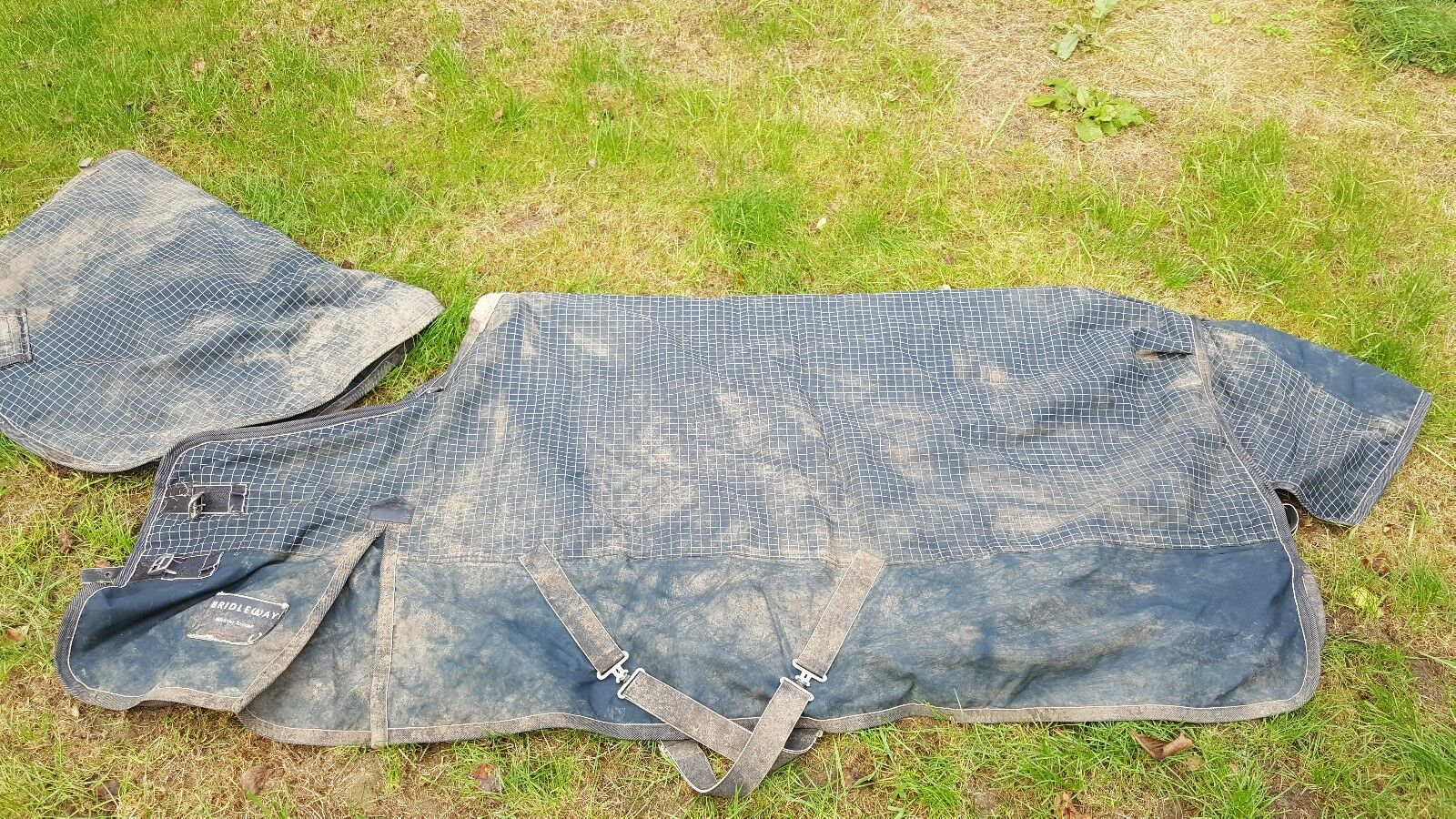 BRIDLEWAY VANCOUVER MEDIUM HEAVY WEIGHT TURNOUT RUG 6'3