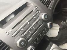 AUDIO & VISUAL EQUIP.(RADIO) HONDA CIVIC 06 07 08 09 10 11 (AM-FM-CD-MP3)