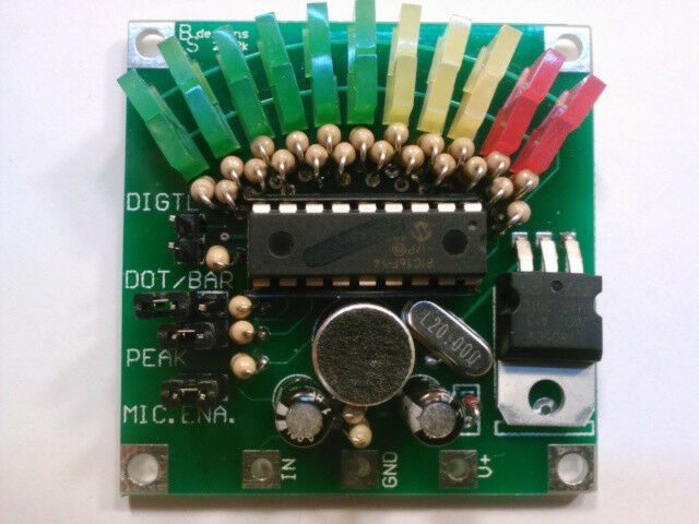 TWO ... 11-Segment VU Display Meter >>KIT<<- US SELLER
