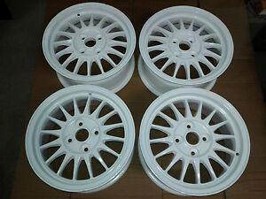 Alloy-Wheels-Ronal-r8-7x15-4x108-et42-Audi-80-90-Coupe-quattro-Type-85-89