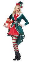 Sexy Elf Santa Claus Christmas Adult Costume