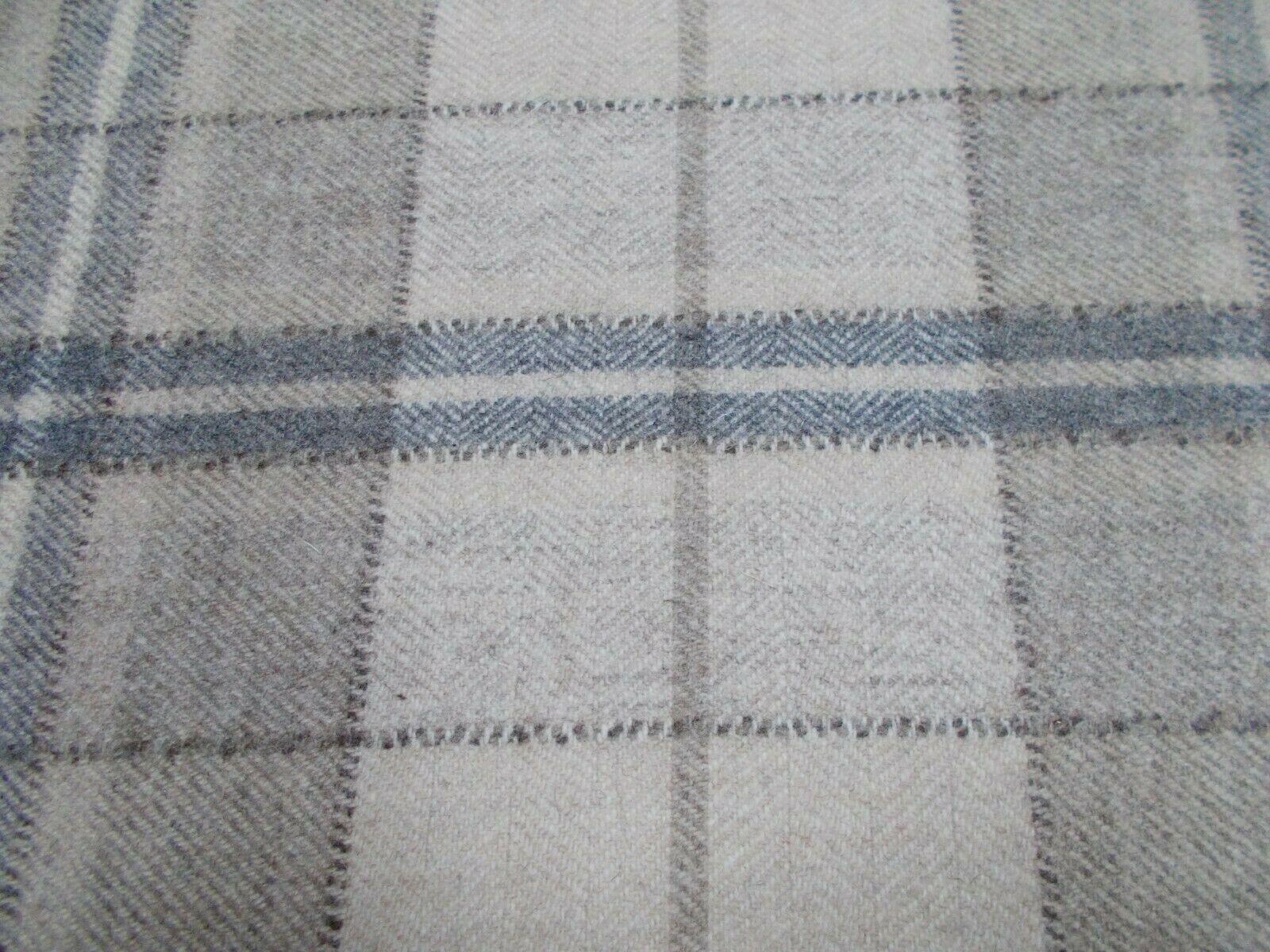 Sanderson Curtain Curtain Curtain Upholstery Fabric 'MILTON' 1.5 METRES Linen Pebble - Wool Mix 0b07ca