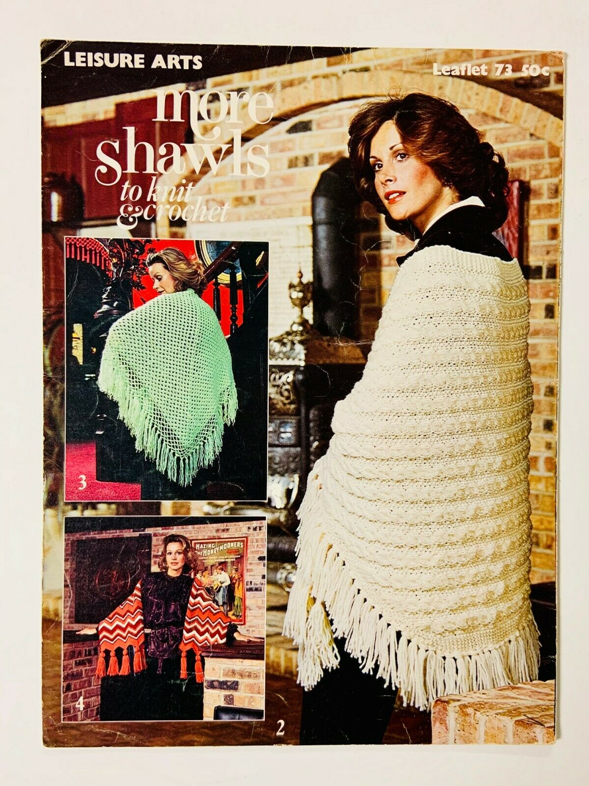Vintage to modern Afghans Cowls and more Shawls Knit, Crochet, Macrame, Loom
