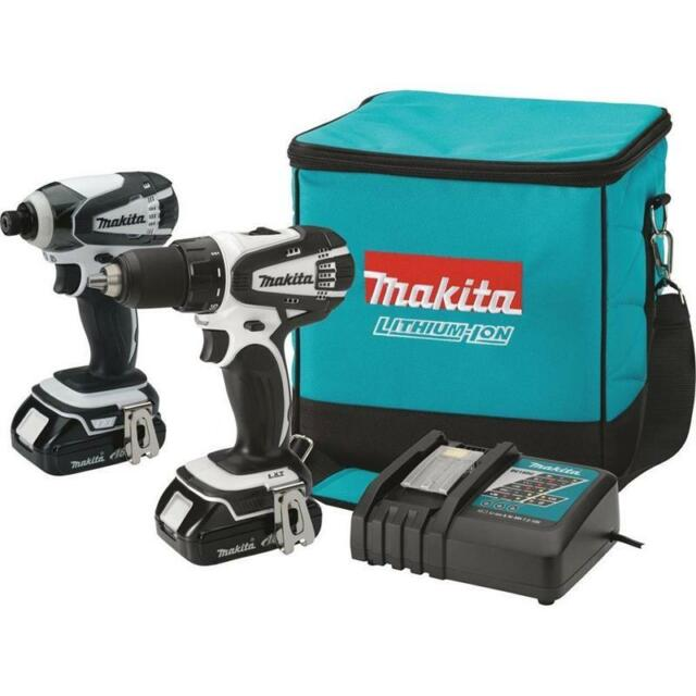 Makita 18V Compact Lithium-Ion Cordless Combo Kit, 2-Piece #CT200RW