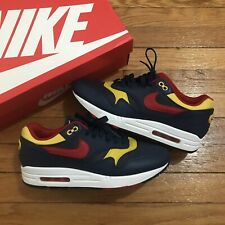 Nike Air Max 1 Premium Snow Beach Navy Vivid Sulfur White