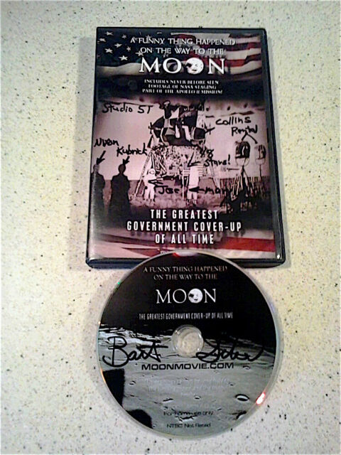 A Funny Thing Happened On The Way To The Moon - RARE AUTOGRAPHED DVD