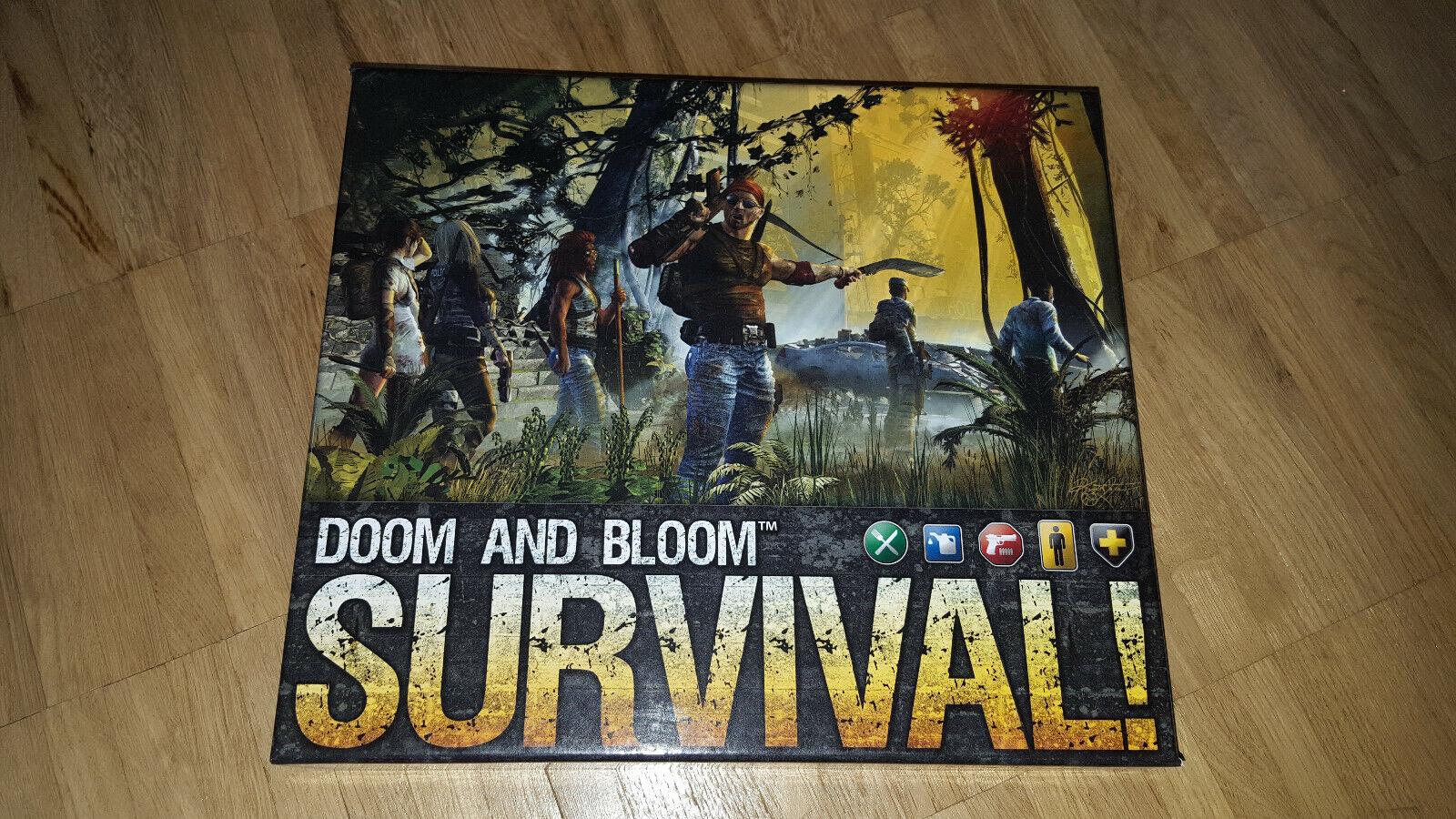 Doom and Bloom Survival  gioco da tavolo rarità-non più disponibile in commercio