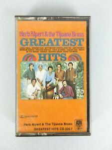 Vintage Herb Alpert & The Tijuana Brass Greatest Hits Cassette Tape Jazz Pop