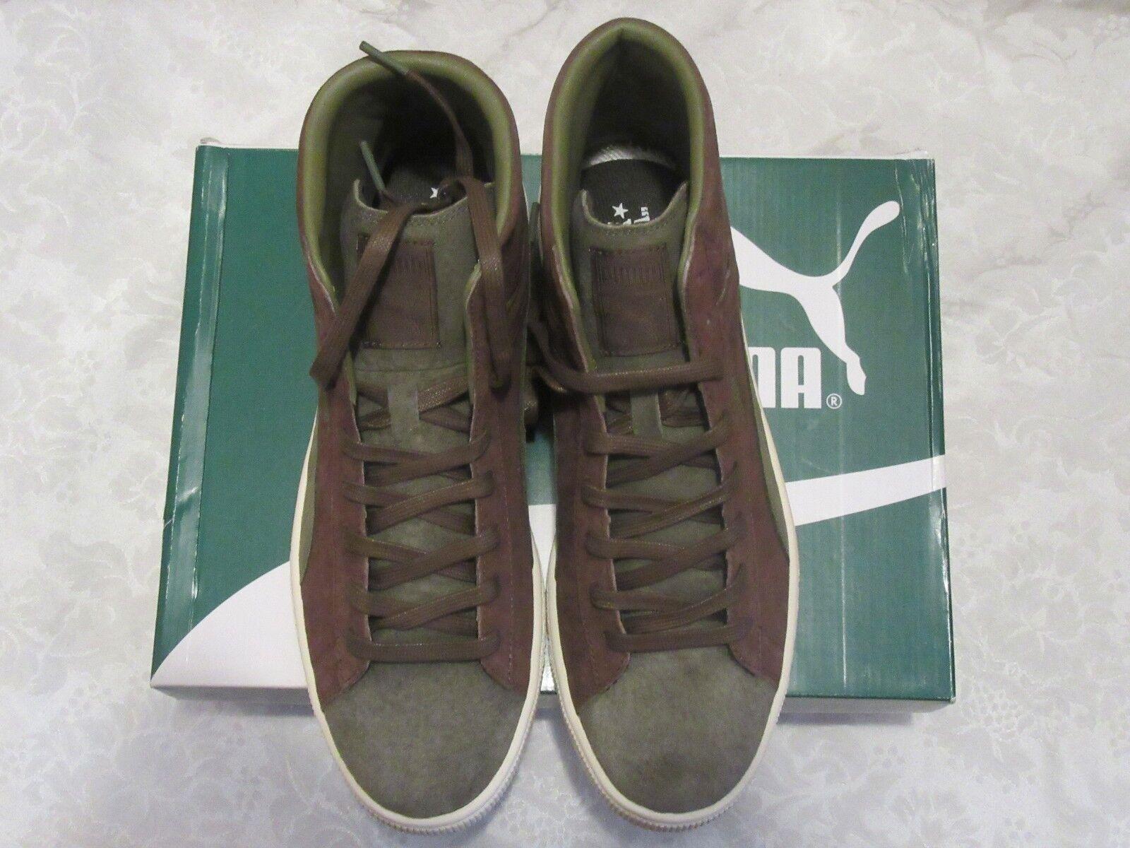 Puma Mid Burnt Olive Oro x Bobbito castaño nuevos 361050 01 cómodos zapatos nuevos castaño para hombres y mujeres, el limitado tiempo de descuento e5c2b5