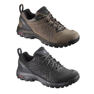 Salomon Evasion Leather Herren Wanderschuhe Laufschuhe Schuhe Trekking NEU | eBay