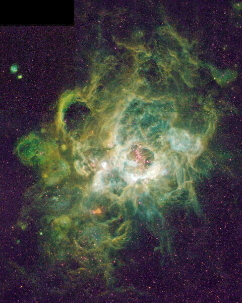 Image of New Stars by Hubble Space Telescope New 8x10 NASA Photo