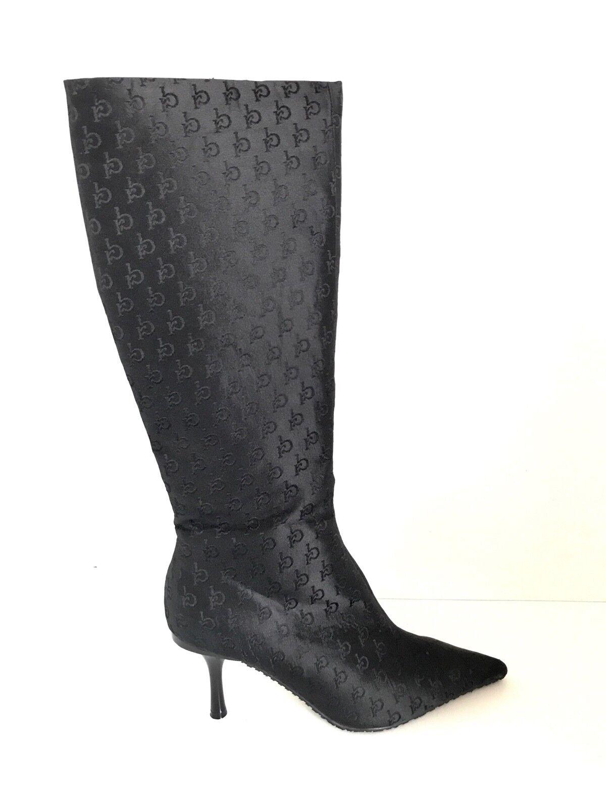 ROCCO BAROCCO botte n. 37 femme ROCW51 noir tissu