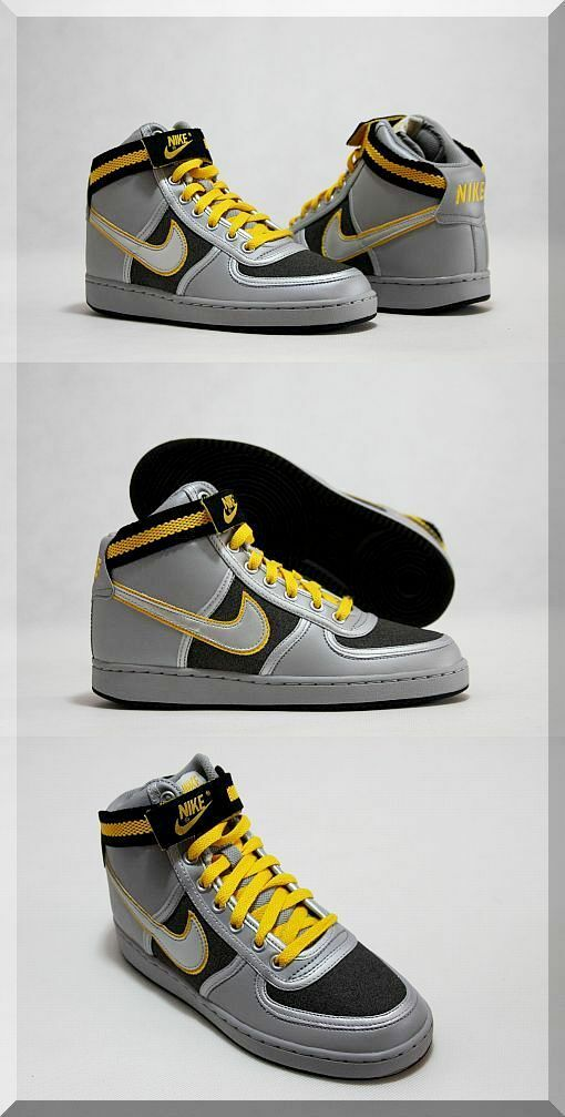NIKE VANDAL HIGH SNEAKERS SNEAKERS SNEAKERS WOMEN SHOES SILVER 15057-001 SIZE 7.5 NEW f7a62f