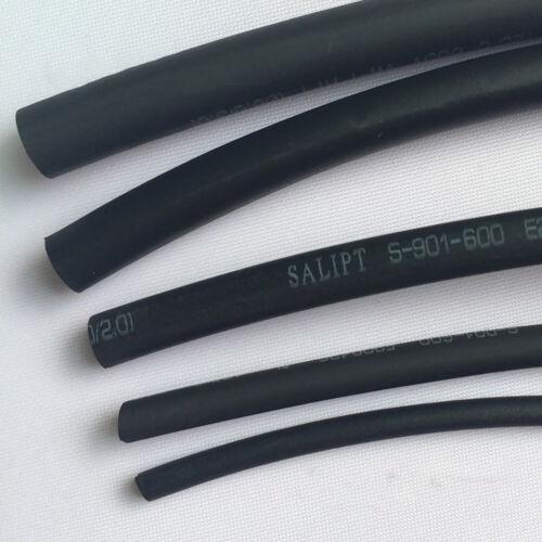 Black 1mm-210mm 2:1 Heatshrink Tube Heat Shrink Tubing Wire//Cable Sleeving Wrap