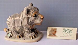 Harmony-Kingdom-TJTI3-Trojan-Tiger-Made-in-UK-2004-SIG-034-Peter-Calvesbert-034-in-Box