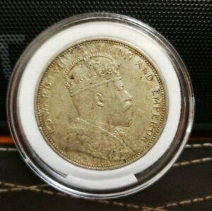 Straits Settlements King Edward Dollar 1904