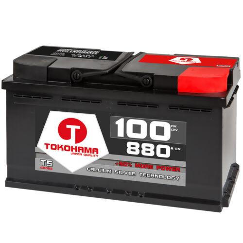 Autobatterie 100AH 30/% mehr Leistung Starterbatterie sofort einsatzbereit